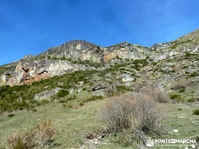 Montaña Leonesa Babia;Viaje senderismo puente; paisajes de nieve circo glaciar ofertas viajes agost